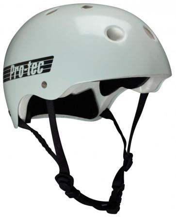 Pro Tec Classic Glow in the dark grey skate helmet