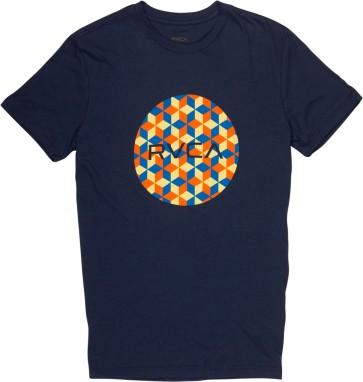 RVCA Barry Motors T-Shirt midnight