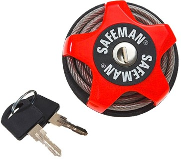 Safeman Tectory 2.0 cable lock red