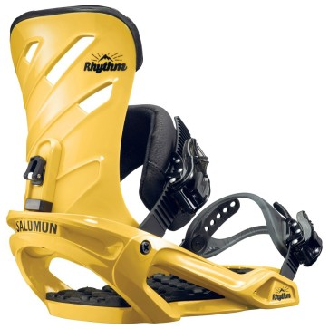 Salomon Rhythm snowboard binding yellow