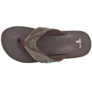 Sanük Beer Cozy flip flop croc (Super-Soft-Fußbett)