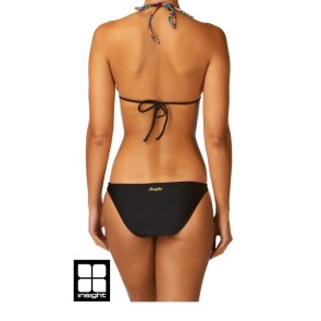 Insight The Huxe sliding halter bikini