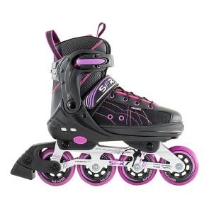 SFR RX-XT Einstellbare Inline Skates schwarz / rosa