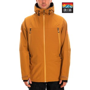 686 The Hundreds GoreTex anorak snowboard jacket black