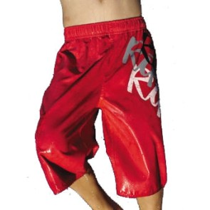 Rip Curl Triplet boy boardshort red