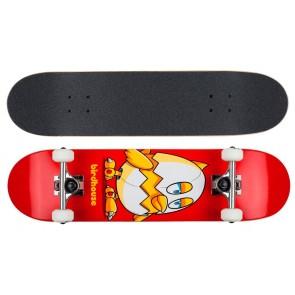 """Birdhouse Stage 1 Chicken mini red 7.38"""" skateboard"""