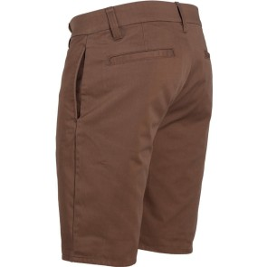 Brixton Carter Relaxed Fit Chino kurze Hose taupe