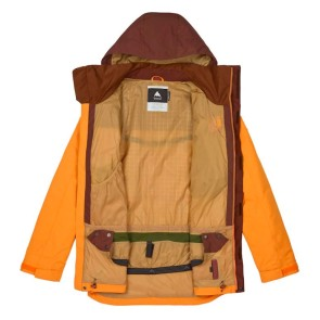 Burton Breach Snowboardjacke golden oak - chestnut 10K (nur S)