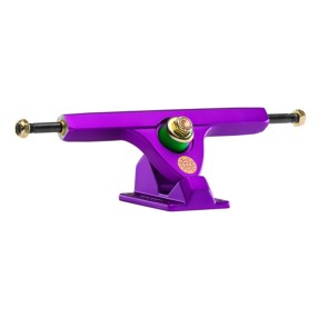 Caliber II Fifty 10'' longboard trucks purple satin