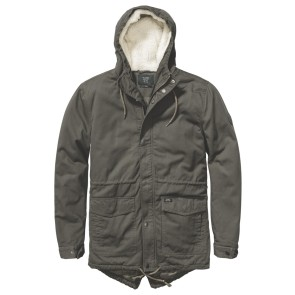 Globe Goodstock thermal fishtail jacket dark olive