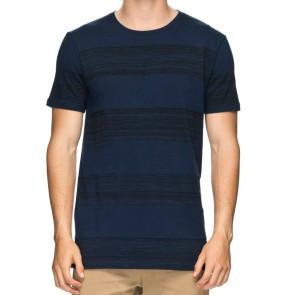 Globe Moonshine T-shirt space dye navy