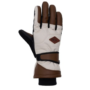 Picture Lewis leather gloves brown-beige 10K