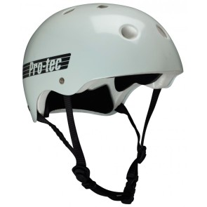 Pro Tec Classic Glow in the dark grey skate helmet