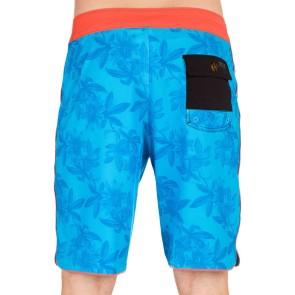 Reef Pasiflora Boardshort blau