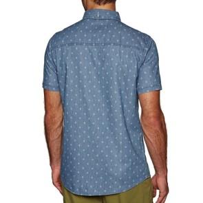 Rip Curl Bondi Shirt Kurzarm grau-blau