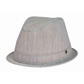 Rip Curl Marled fedora hat ciment heather
