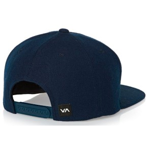 RVCA Commonwealth snapback cap navy
