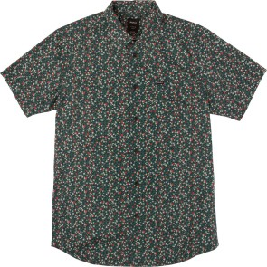 RVCA Top Poppy short sleeve shirt federal blue