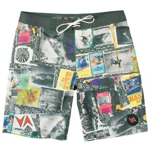 "RVCA Wave Warrior trunk 19"" boardshort"