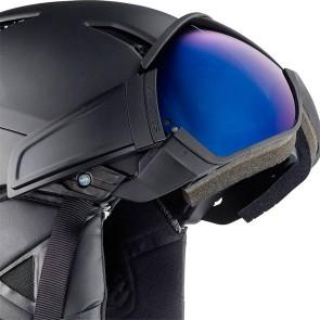 Salomon Driver-solar helmet with visor all black