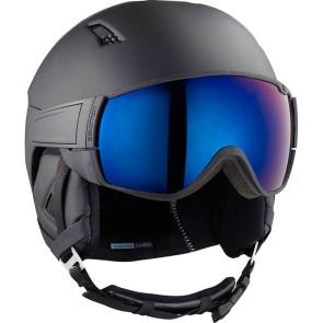Salomon Driver all black solar helmet black
