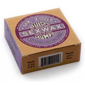Sexwax Quick Humps surfboard wax