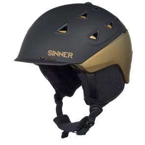 Sinner Stoneham helmet matte black/gold