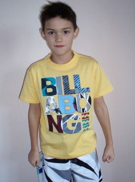 Billabong Carbon SS t-shirt yellow
