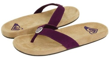 Roxy Vamonos slipper purple