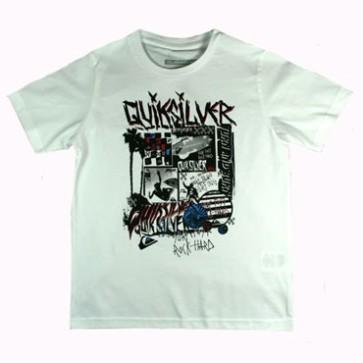 Quiksilver Toasty boys T-shirt white