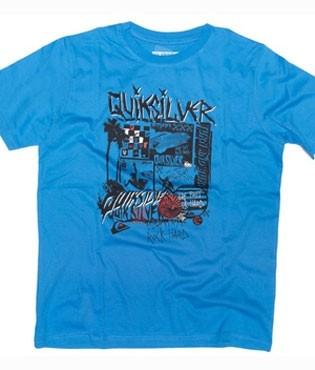 Quiksilver Toasty boys T-shirt costa azul