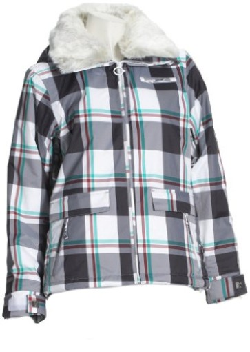 Roxy Begin Plaid snowboard jacke