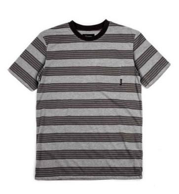 Brixton Hilt Pocket Knit T-shirt heather grey
