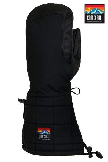 686 Coal X Amp Merino mitten glove 10K black 2020
