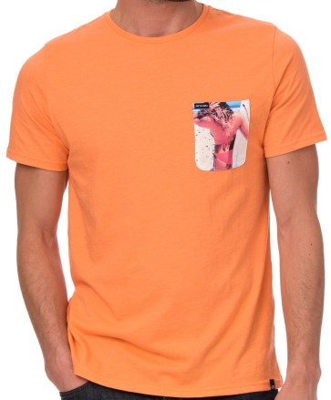 T-shirt kopen online, Skate T-shirts groningen, Animal Reys T-shirt orange