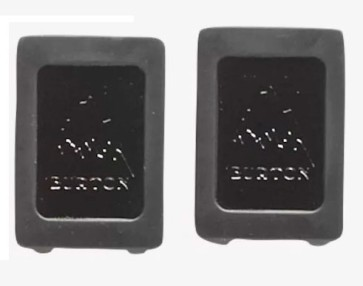 Burton Channel plugs black (2 pcs)