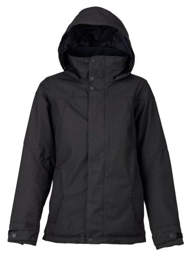 Burton Jet set womens snowboard jacket black 10K