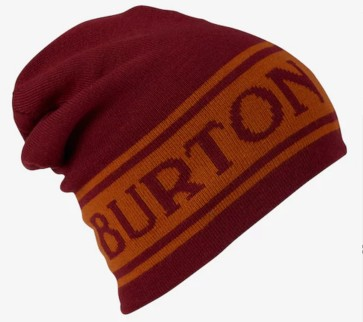 Burton Billboard beanie fired brick - golden oak