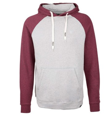 Etnies Lewis hooded sweatshirt grey heather