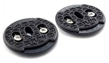 Flow Channel disc nylon with M6 screws (set)