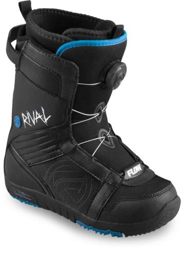 Flow Rival BOA jr. snowboard boots black
