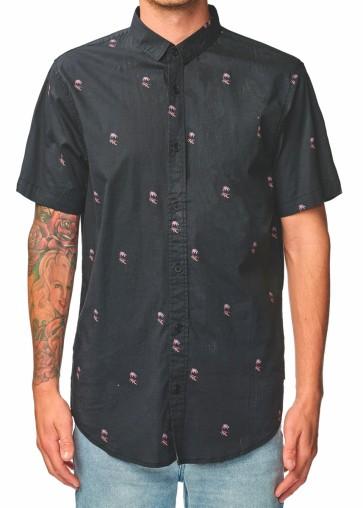 Globe Wasteland SS Shirt washed black