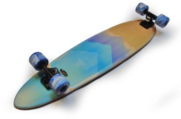 "Landyachtz Super Chief 36"" watercolor complete longboard"