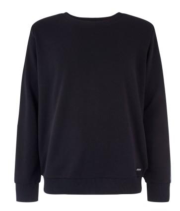 Mystic Brand Crew sweat shirt caviar black