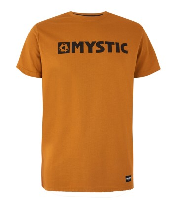 Mystic Brand t-shirt golden brown