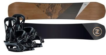 Nidecker Escape AM snowboard set + United bindings 2020