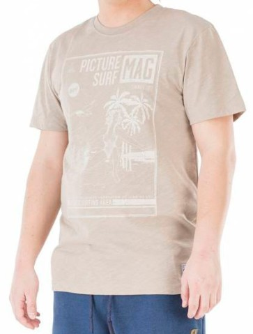 Picture Clothing Westbeach T-Shirt grey sand