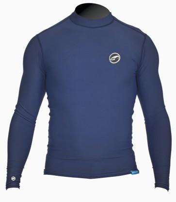 Pro Limit rashguard Logo silk long arm (LA) dark blue