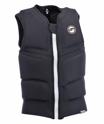 ProLimit Stretch vest full padded FZ black-white