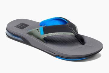 Reef slippers kopen groningen, Reef Fanning Low slippers blue grey